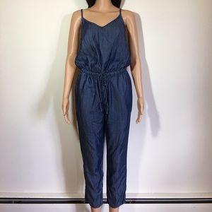 Gap soft denim jumpsuit size XS